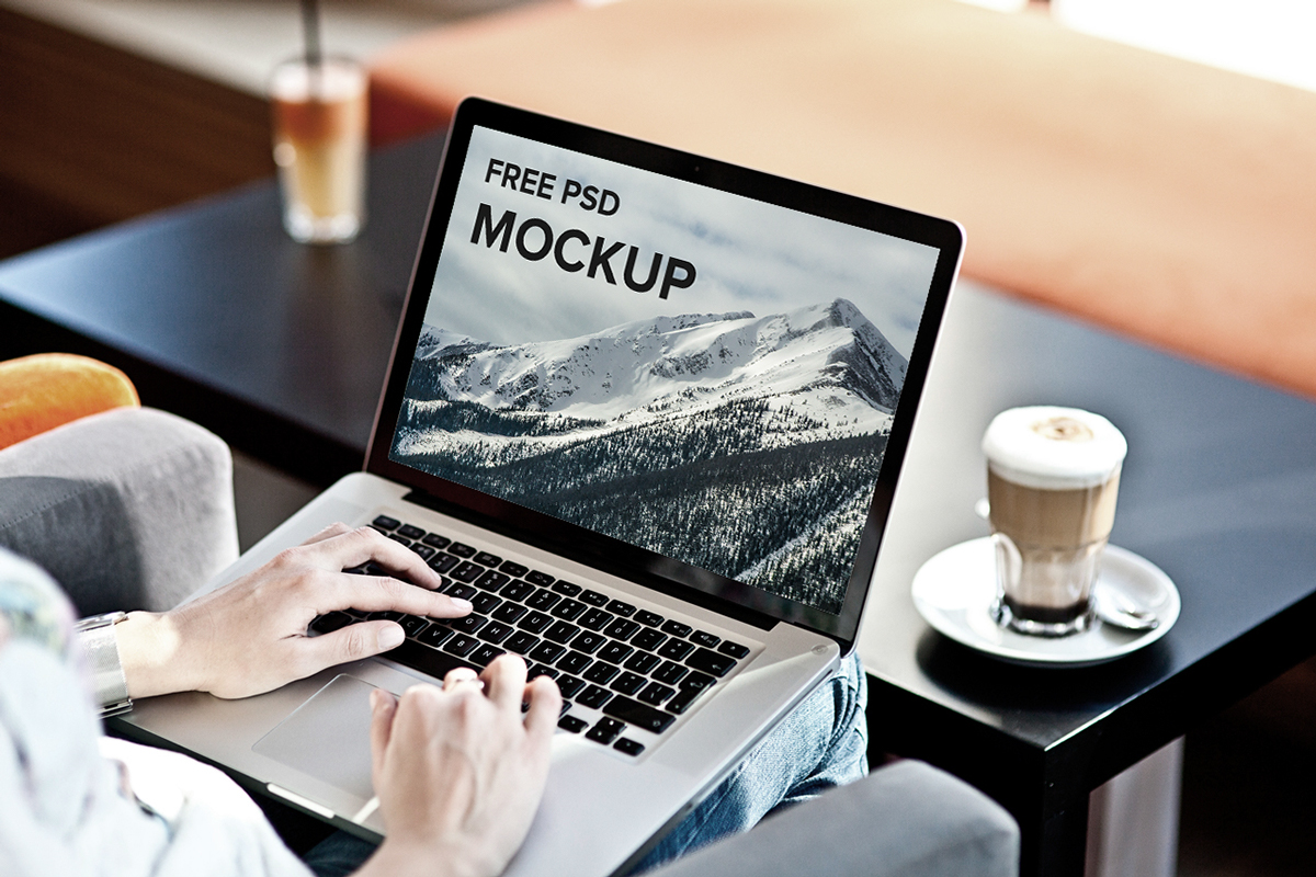 Working on MacBook and iMac Mockup | Mockup World
