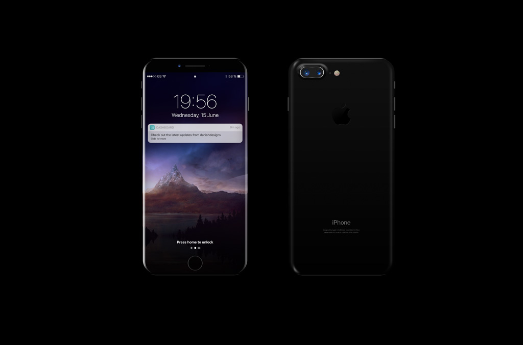 Black Iphone 8 Mockup Mockup World