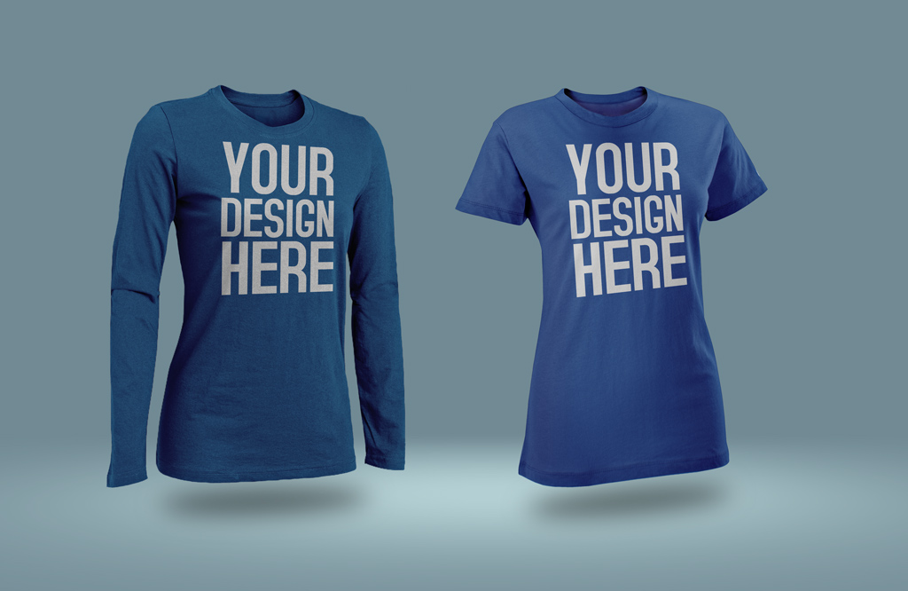 Male And Female T Shirt Mockup Mockup World