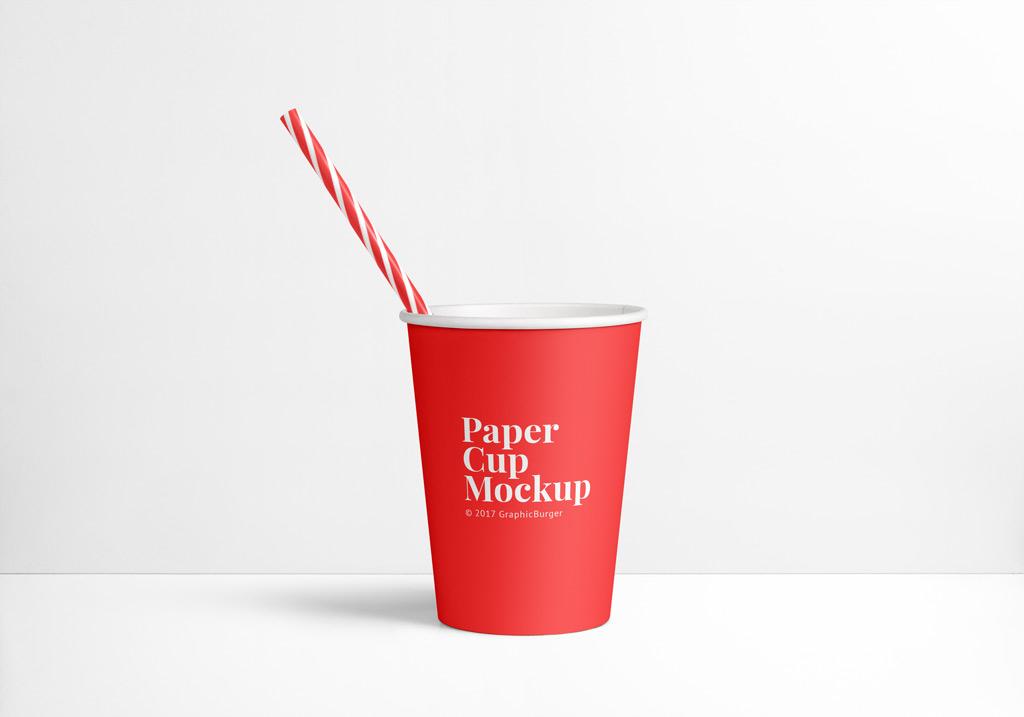 Paper Cup Mockup Mockup World