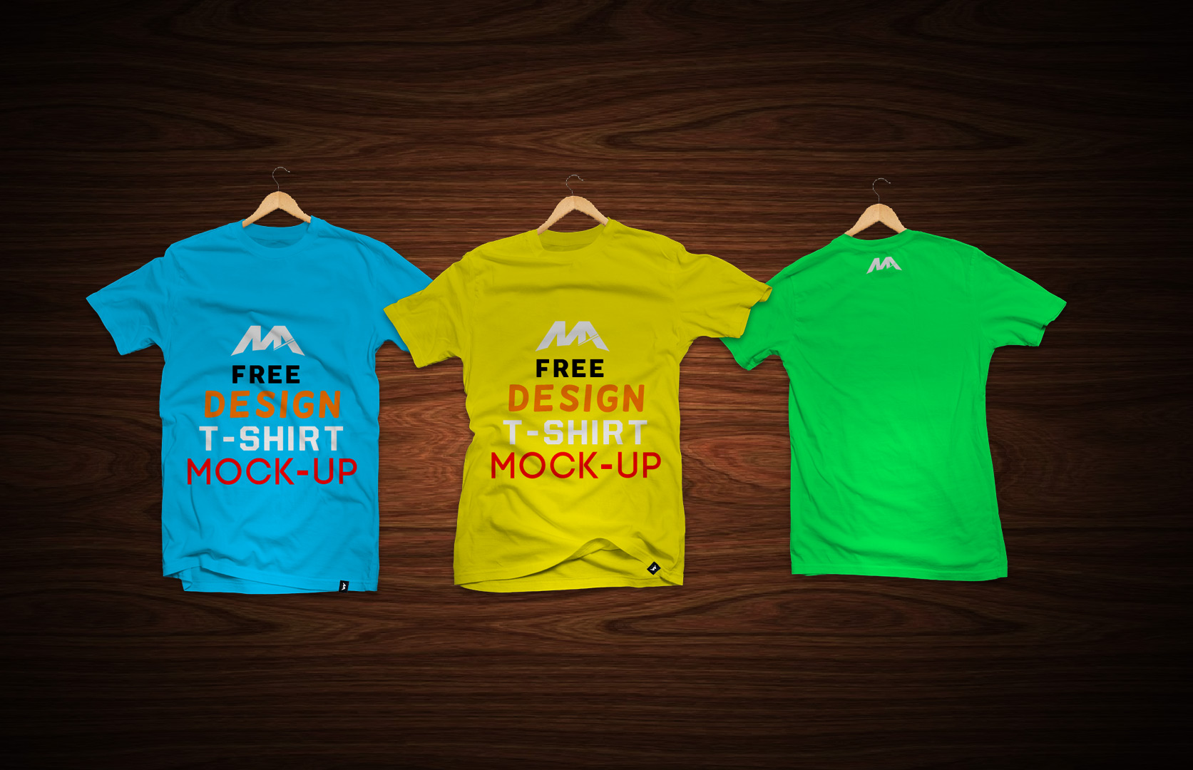 T Shirts With Labels Mockup Mockup World