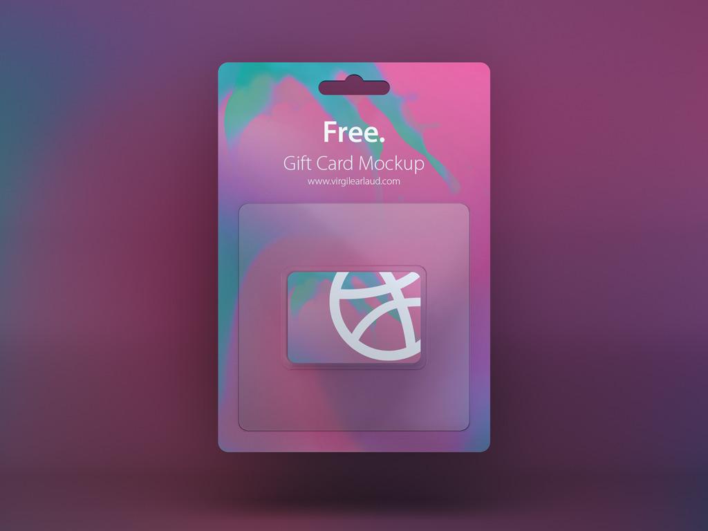 Gift Card Mockup Mockup World
