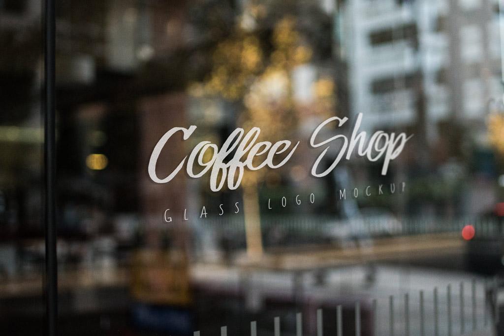 Shop Window Logo Mockup Mockup World