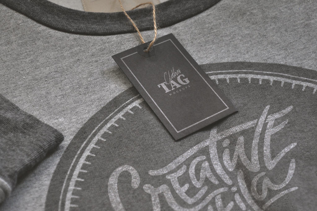 Clothing Labels Mockup Set Mockup World