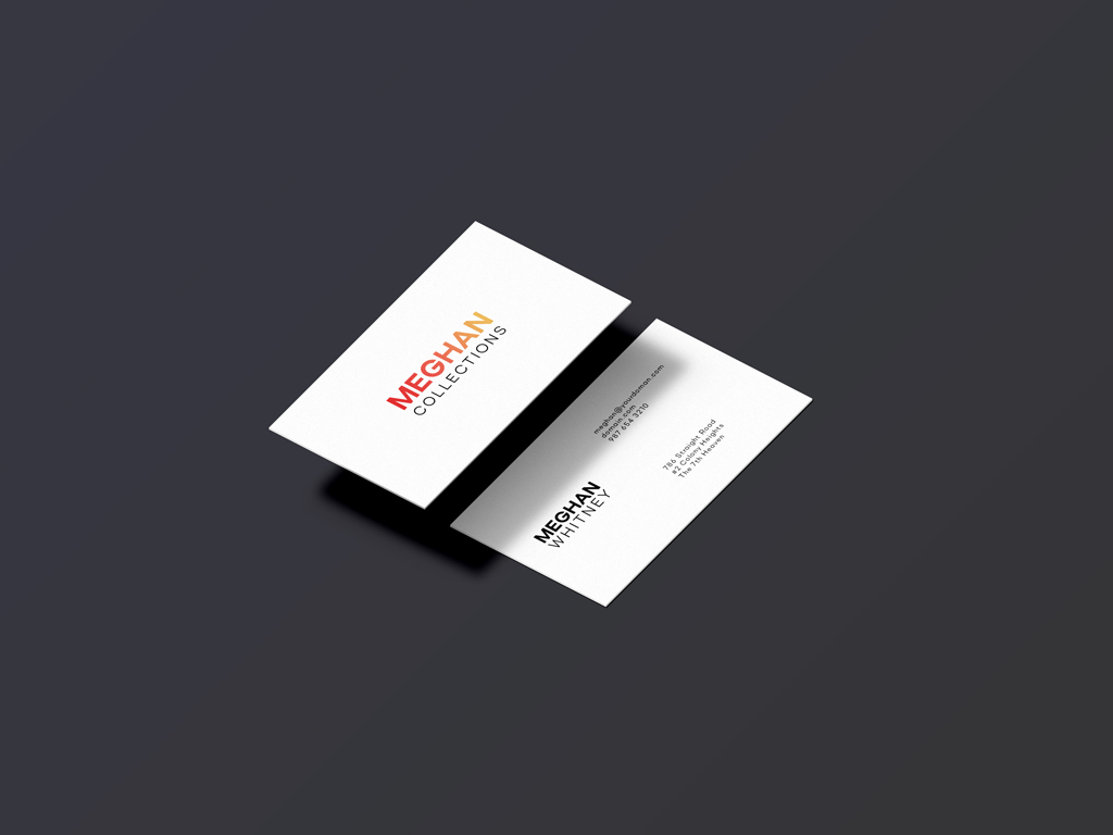 isometric business card mockup  mockup world