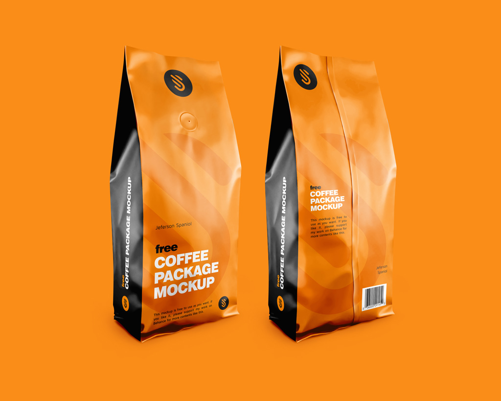 Coffee Package Mockups Mockup World