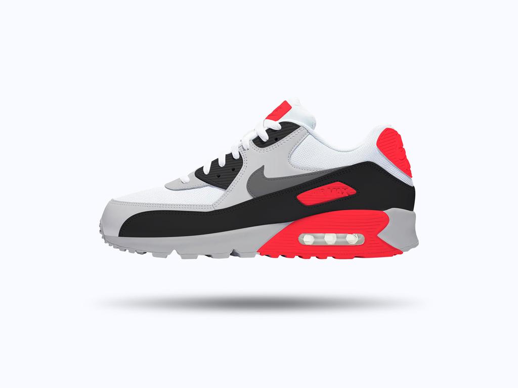 Nike Air Max 90 Sneaker Mockup | Mockup