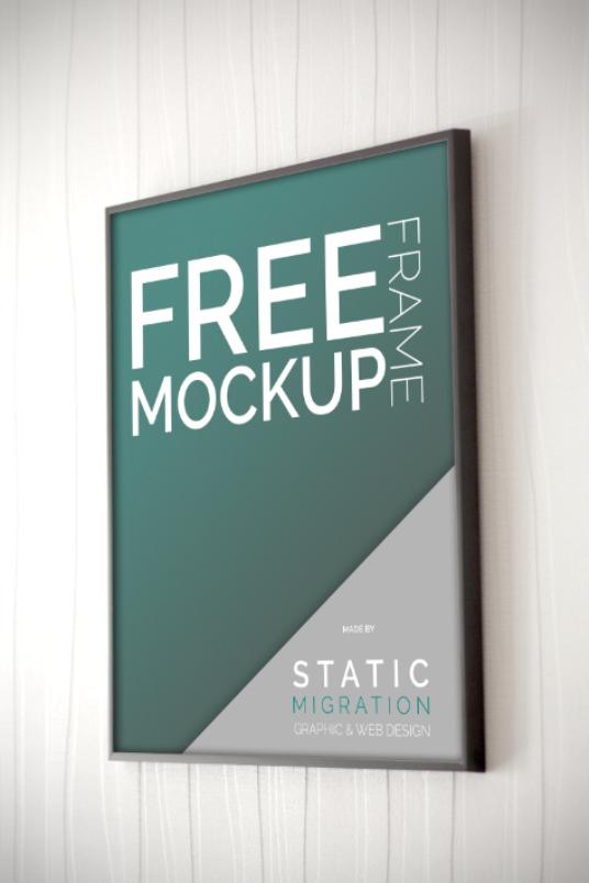 Poster Frame Mockup Mockup World