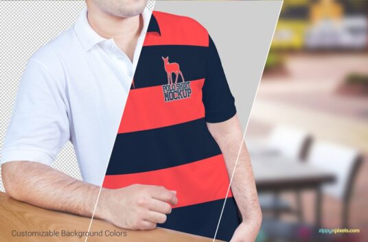 Polo Shirt Mockup Mockup World