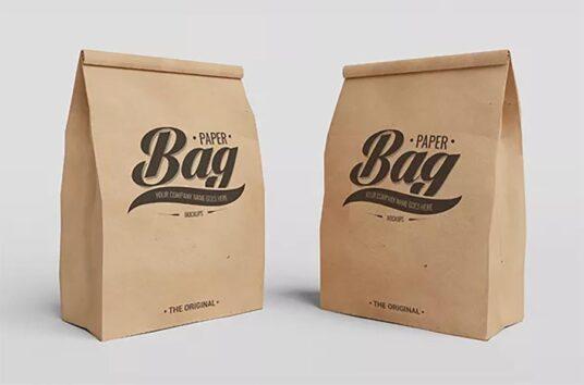 Bundle Of Paper Bag Mockups Mockup World