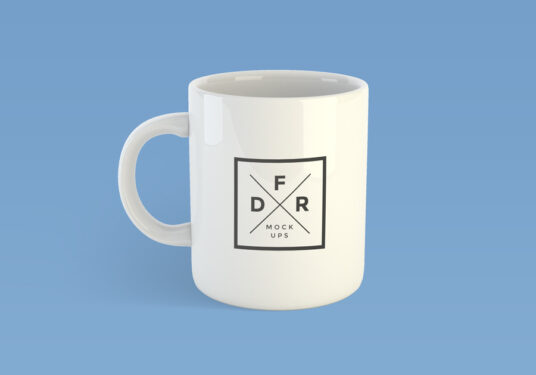 Mockup Mug Keren PSD 8
