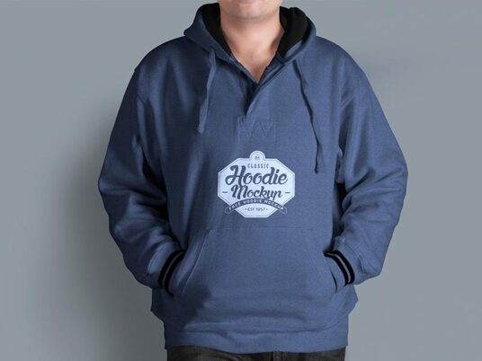 Men's Hoodie Mockup | Mockup World