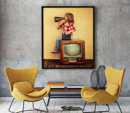 Free Living Room Poster Mockup Mockup World