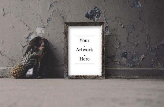 Download Bundle of Photo or Painting Frames Mockups | Mockup World Free Mockups