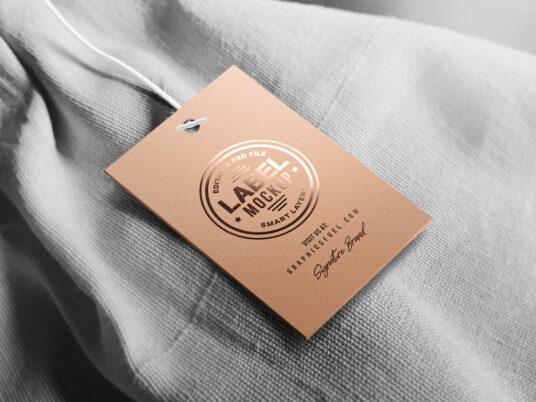 Clothing Tag Mockup Mockup World