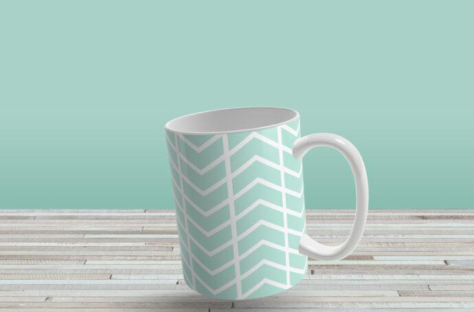 Mockup Mug Keren PSD 1
